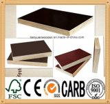 O papel impermeável do bom preço cobriu a madeira compensada laminada para a mobília