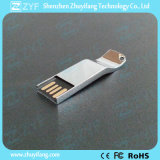 2016 Nouveau design unique Silver Bright Metal USB Stick (ZYF1737)