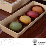 Hongdao modificó el rectángulo de regalo para requisitos particulares de madera del caramelo del pino natural del color con el _E del precio de fábrica de la insignia