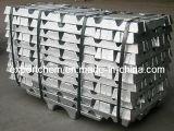 アルミ合金のインゴット、アルミニウムインゴット99.7%