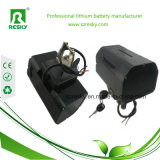 bloco Foldable recarregável da bateria de 24V 36V 250W para a bicicleta elétrica da liga