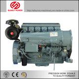 motor diesel de 30kw/40HP 1500rpm-2000rpm con la polea del embrague y de correa