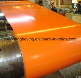 Bobine en acier enduite d'une première couche de peinture de la couleur Gi/Galvanized avec Dx51d, CGCC, matériau de Cgch