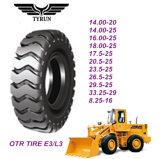 Neumático del alto rendimiento E3/L3 OTR de China (20.5-25 17.5-25)