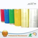 Le prix usine personnalisent la bande d'emballage de BOPP, bande claire superbe de cachetage