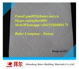 Tuile compétitive de plafond de gypse stratifiée par PVC