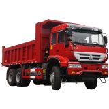 HOWO 8X4 빨간 덤프 트럭