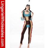 호화로운 여자의 부족 아메리카 인디언 Halloween 당 공상 복장