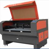 Découpage de laser de CO2 et machine de gravure pour le tissu/cuir