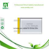 bateria do polímero do lítio 3.7V 606066 2600mAh para o GPS