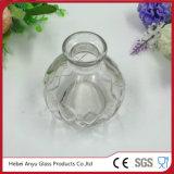 De in het groot Duidelijke Ronde Fles van Aromatherapy van het Glas met de Verspreider van het Riet
