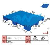 Паллет 9 ног пластичный (в сталях) в размере L1200*W1000*H140mm