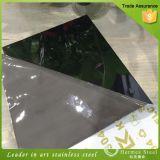 Hoja de acero inoxidable del espejo laminado en frío con el mejor precio para la decoración del hogar