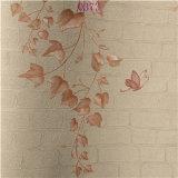 Het Naadloze Behang van uitstekende kwaliteit van pvc van de Gunst Roze