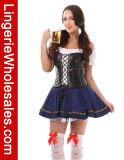 プラスのサイズビール未婚のCospalyのセクシーな衣裳