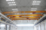 Tipo grúa de arriba de Lda del solo puente de la viga con la maquinaria de elevación del alzamiento eléctrico para el taller