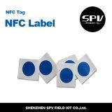 NFC 13.56MHz 꼬리표 방수 Ntag216 ISO14443A RFID