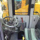 De gearticuleerde MiniLader van het Wiel met de Vork van het Logboek