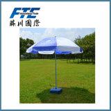 Precio barato de la venta caliente que hace publicidad del parasol de playa al aire libre
