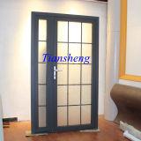 Porta interior bonita de porta francesa de liga de alumínio