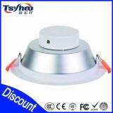 Alto hallazgo de aluminio LED Downlight de la iluminación Ce/Rohs del lumen LED