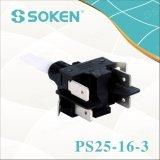 Interruptor de pulsador de Soken PS25-16-4