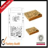 El papel de cartón corrugado crea las cajas de embalaje para la venta, rectángulo de la pizza para requisitos particulares más barata del cartón,