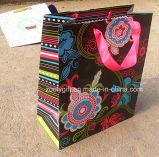 Подгоняйте мешок подарка печатание птицы малый бумажный