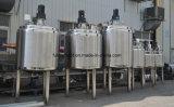 Acero inoxidable Vapor Calefacción Blending Tank