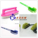 洗面所のブラシまたはクリーニングブラシか台所ブラシを作るためのプラスチックワイヤーかフィラメントまたは単繊維のプラント