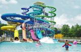Water en spirale Slide pour Water Park
