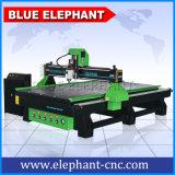 Mittellinie 3D China-3 CNC-hölzerne Fräser-Maschine 1530 mit Luftkühlung-Spindel und Vakuumpumpe