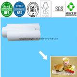 Papel de papel do Hamburger do empacotamento de alimento com o PE revestido