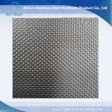 Treillis métallique d'acier inoxydable pour l'application de filtre