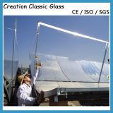 стекло панели солнечных батарей 3.2mm при Polished законченные края