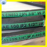Erstklassiger Qualitätsdraht-umsponnener hydraulischer Schlauch SAE 100 R2