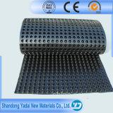 Placa personalizada do dreno do HDPE usada para a drenagem do porão
