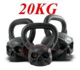 da cabeça Sculpted do macaco do ferro de carcaça 20kg crânio principal animal Kettlebell