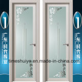 Алюминиевые двери Casement нутряных дверей дверей ванной комнаты