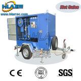 Tipo mobile macchina in linea del rimorchio di trattamento dell'olio del trasformatore