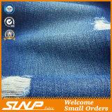 ジーンまたはジャケットのための綿のあや織りのデニムファブリック