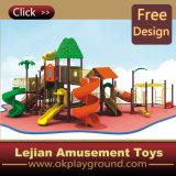 CE classique en plastique Enfants plastique en plein air Aire de jeux pour l'école (12099A)
