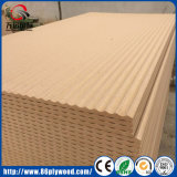MDF sin procesar del panel de pared de Texured 3D