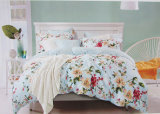 Price barato Comforter Set com Printed Cotton Fabric
