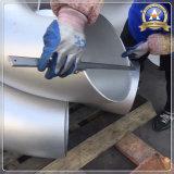 Cotovelo da soldadura de extremidade do aço inoxidável de encaixes de tubulação de ASTM 316L