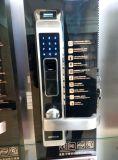 Serratura di portello biometrica elettronica della maniglia dell'impronta digitale della scheda di tasti RFID dell'impronta digitale