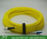 Cavo di zona di fibra ottica di inserzione Sc-FC del duplex basso di perdita