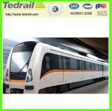 Treno ferroviario del carrello dell'automobile della traccia della vettura di Ca25t Passenge