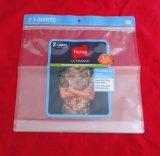 Sacchetto impaccante del sacchetto di mano del polisacco con il fumetto della maglietta del sacchetto del regalo