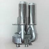 Ie3 ventilador lateral de alta presión del canal del motor 5.5kw, ventilador del anillo del aire